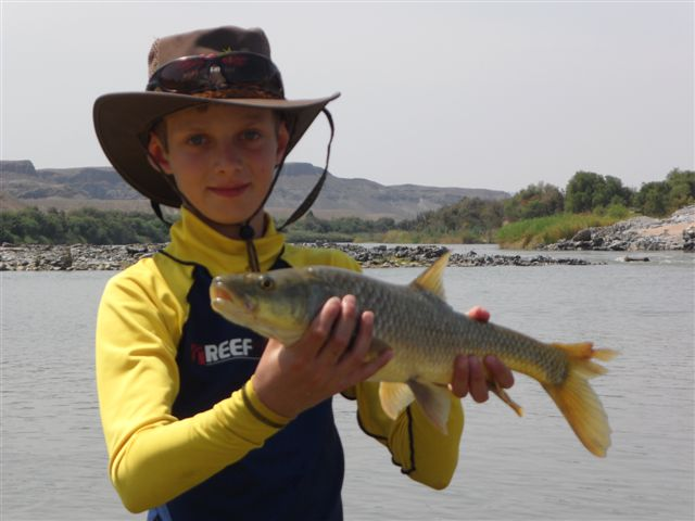 Fishing on The Orange River